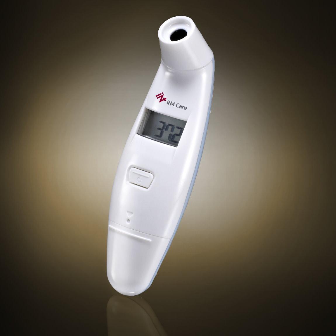 數位非接觸前額體溫計